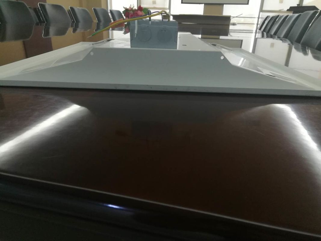 Ultra Thin LED Troffer Fixtures 50W 2x4 Foot 6000-6500lm Al And PMMA Material